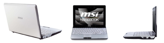 MSI Wind U120 Netbook announced
