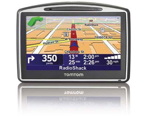 TomTom GO 630 GPS is Radio Shack exclusive