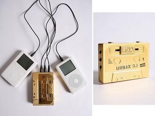 Urban DJ mix-tape for portable cross-fading