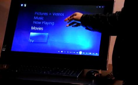 Windows 7 Media Center gets touch-input; multi-touch coming