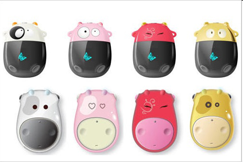 Creative Zen Moo MP3 Players are cow-tastic
