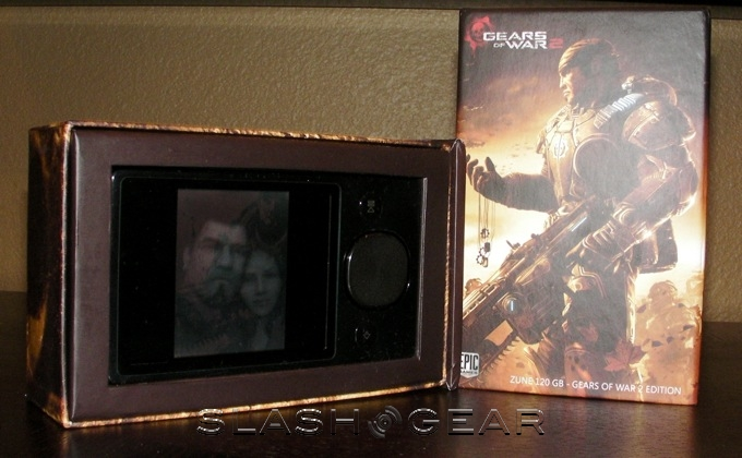 Zune 120GB Gears of War 2 Special Edition