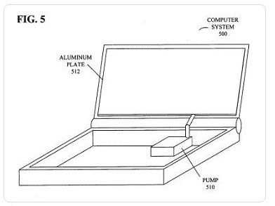 Apple patent shows alternative cooling for notebooks