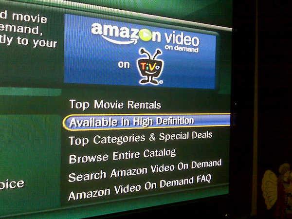 Amazon HD streaming coming to TiVo?
