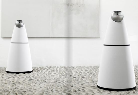 Bang & Olufsen offer over-engineered white speaker grills