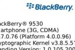 BlackBerry Storm 4.7.0.76 OS update leaks