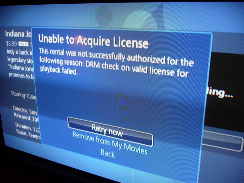 Blockbuster OnDemand rushed out? Glitchy playback & DRM issues