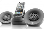 Focal iPod set can collapse to form a sphere-shape speaker