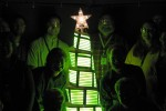 GE displays First-Ever OLED Christmas Tree