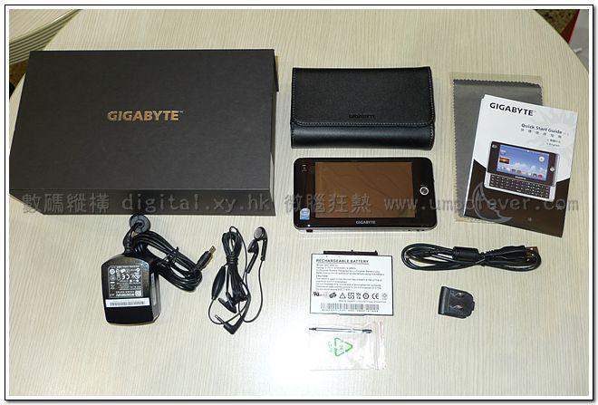Gigabyte M528 MID unboxed