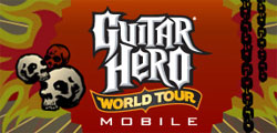 Guitar Hero World Tour launches for mobile devices