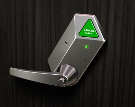 'Help Lock' Doorknob helps elderly people with bathroom spills