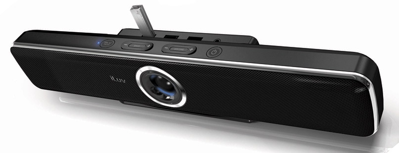 ILuv iSP200 soundbar with built-in USB Hub