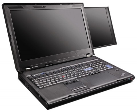 Lenovo ThinkPad W700ds get reviewed, bulky but powerful