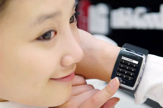LG GD910 3G cellphone watch coming to CES before European launch