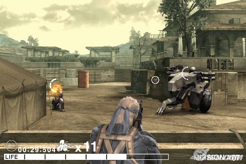 Metal Gear Solid Touch is simple shooter, not stealth game