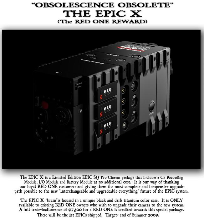 RED Scarlet & Epic cameras get spec tweak; new bundle announced