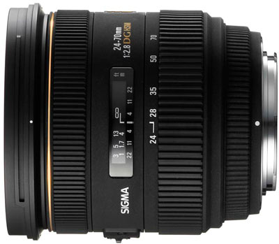 Sigma 24-70mm F2.8 EX DG HSM gets official, but costly