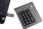 Wireless USB multi-functional 10-key pad comes complete with music controls