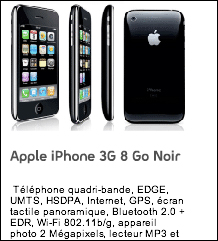 iPhone 3G selling in France without a contract