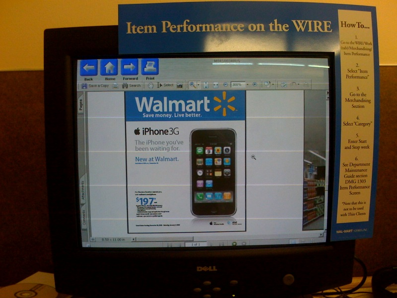 Walmart iPhone 3G rumors continue: 8GB for $197 on Dec 28th?