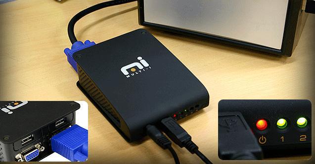 WITECH Multi-I dual-display USB video card
