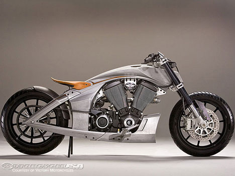 Victory Motorcycles shows off stripped down Core concept