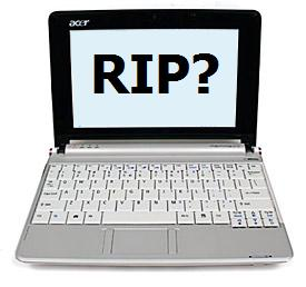 Acer axing 8.9-inch Aspire One in Q2 2009?