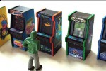 Amazing tiny Arcade Cabinet models