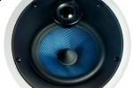 B&W CCM816 In-Ceiling speaker features a blue Kevlar driver
