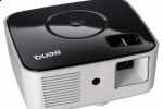 BenQ's GP1 compact projector featured PhlatLight LEDs technology