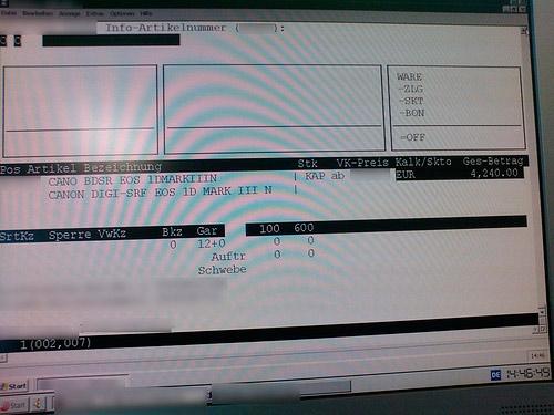 Store Leak hints Canon Mark III N coming to PMA 2009