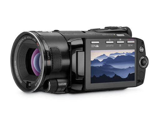 Canon reveals five new VIXIA HD camcoders for CES 2009