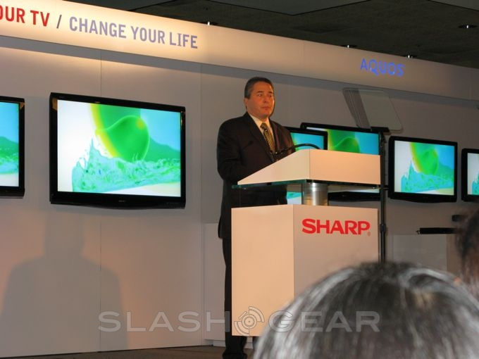 Sharp announces more efforts to become greener