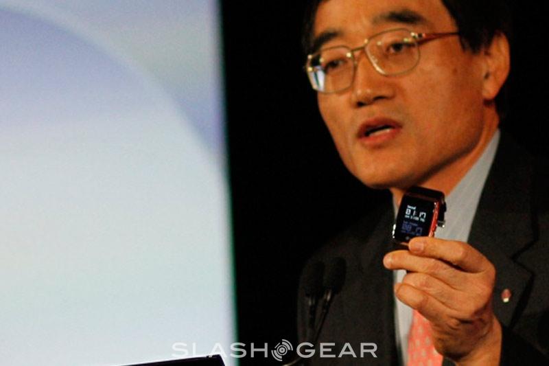 CES 2009: LG GD910 Watch Phone entering production 2H 2009