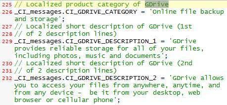 Google GDrive online storage & backup service leaked