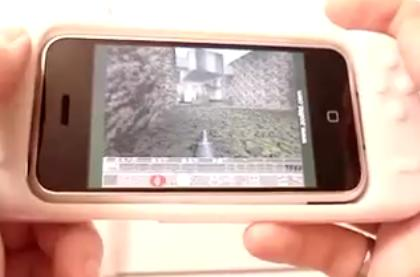 iControlPad iPhone gaming controller gets video demo