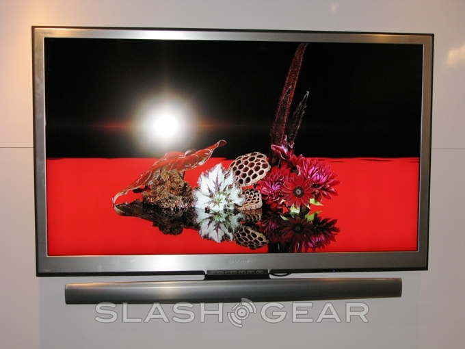 Sharp's Aquos BD Series Include Built-In Blu-ray Players