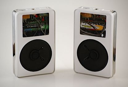 DIY iPod speakers