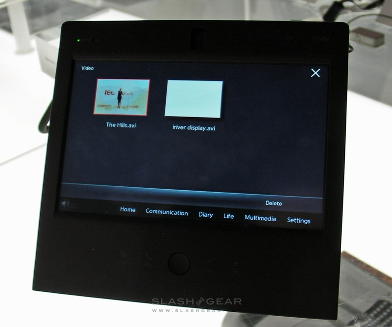 CES 2009: iRiver WAVE HOME multimedia device hands-on