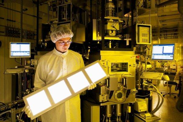 OLED large-panel lighting prototypes this year, claims Fraunhofer IPMS