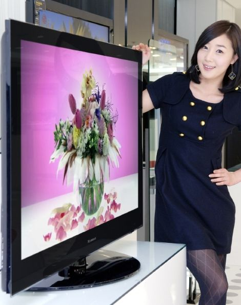 LG Xcanvas bobos 50PQ60D Plasma HDTV with 1bn:1 contrast
