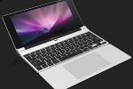 Apple MacBook Mini dual-folding netbook concept