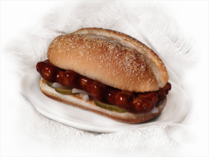 Track down a McRib sandwich in your area