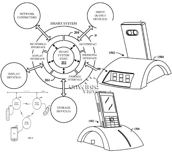 Microsoft patent intelligent cradle to turn a smartphone into a PC