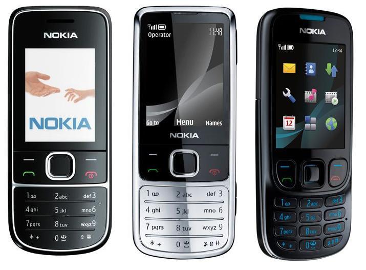 Nokia 2700 classic, 6700 classic and 6303 classic announced