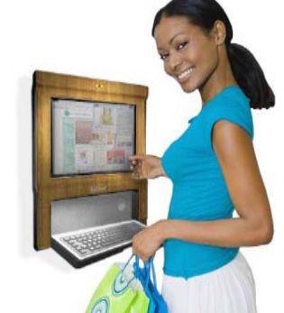 Originatic Smart-Leaf wall-mounted touchscreen PC
