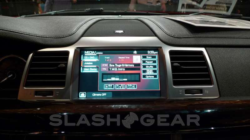 Gracenote technology being integrated into navigation systems