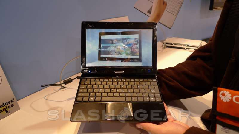 CES 2009: Eee PC T91 Tablet