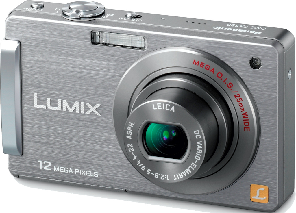 Panasonic DMC-FX580 gets Touchscreen treatment